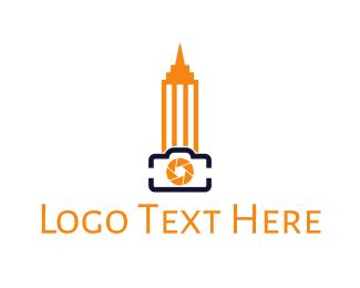 Ny - Empire State Photography  logo design