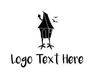 Witch - Chicken House logo design