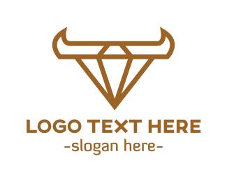 Diary - Western Diamond  logo design