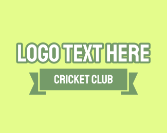 Sport Team - Cricket Club logo design