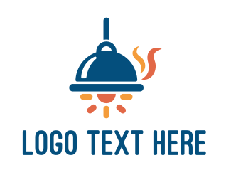 Gourmet - Tray Lamp logo design