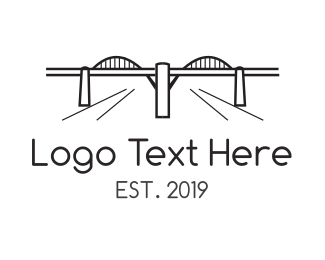 Los Angeles Bridge Logo Maker