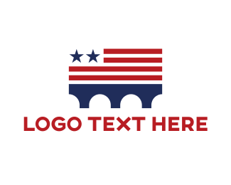Patriot - USA Bridge logo design