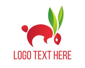 Bio - Bio Rabbit logo design