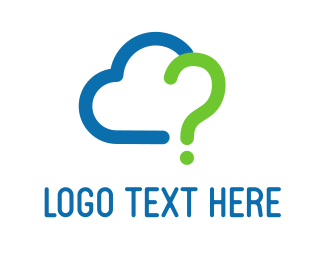 Question - Question Cloud logo design
