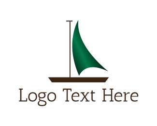 Boat - Green Boat logo design