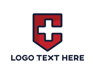Rescue - Medical Letter C logo design
