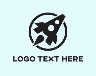 App Developer - Rocket Letter A logo design