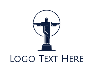 Christ - Blue Christ  logo design