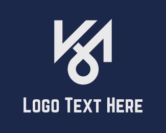 Apparel - K & M logo design