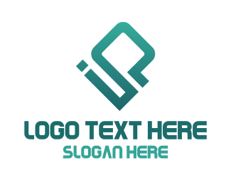 Computer - Blue Ip logo design