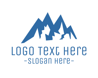 Hike - Climbing Mountain logo design