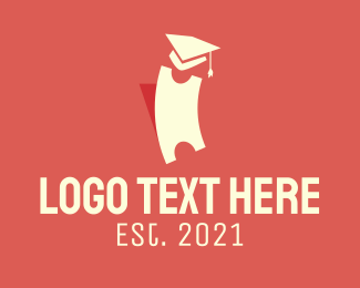 Coupon - Graduation Ticket logo design