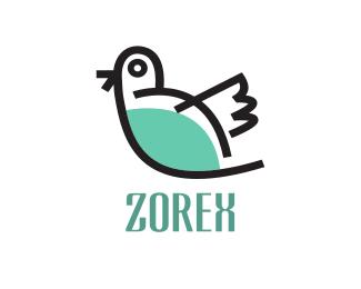 Social Little Bird logo design