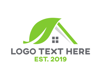 Greenhouse - Nature House logo design