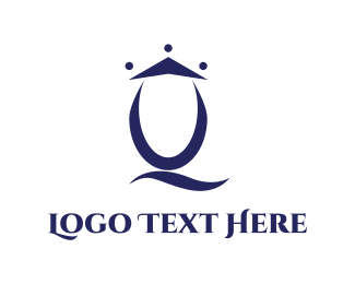Management - Queen Letter Q logo design