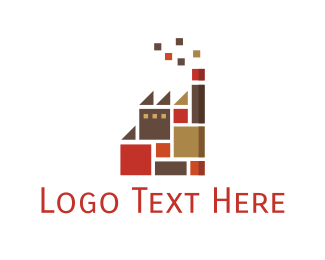 Ceramic - Tile Factory  logo design