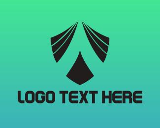 Badge - Black A Badge  logo design