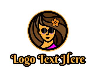 Aloha - Vacation Blogger logo design