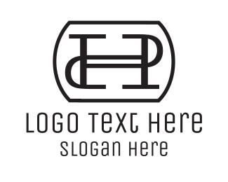 Letter Mark - H & P logo design