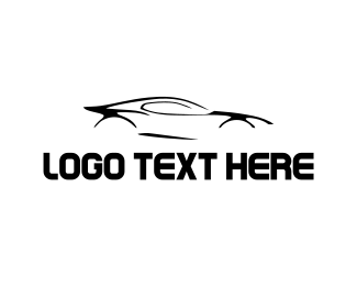 Sports Car - Race Car logo design