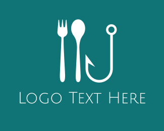 Hook - Seafood Hook  logo design