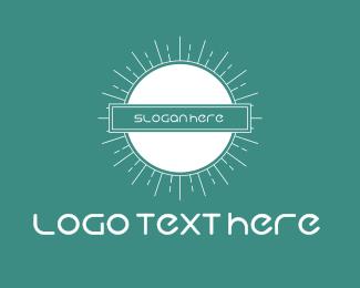 Shine - Bright & Blue logo design
