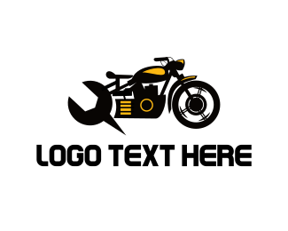 Bike - Motorcycle Mechanic logo design