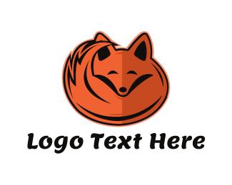 """Sleepy Orange Fox"" by WestDesign"