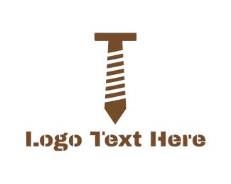 Tradesman - Tie Bolt logo design