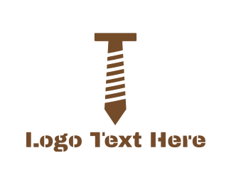 Hardware - Tie Bolt logo design