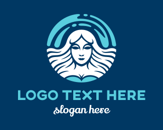 White Goddess  Logo Maker