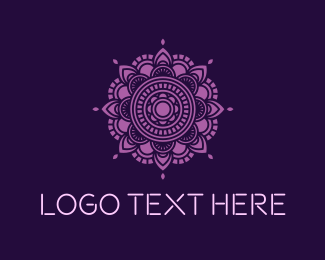 India - Mandala Yoga logo design