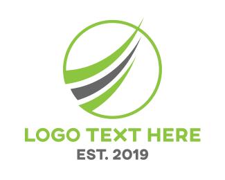 Swoosh - Green Financing logo design