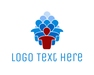 Human Resources - Team Leader logo design