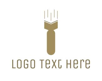Blogging - Atomic Book logo design