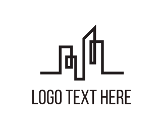 Property - City Line logo design