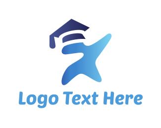 Graduate - Star Graduation logo design