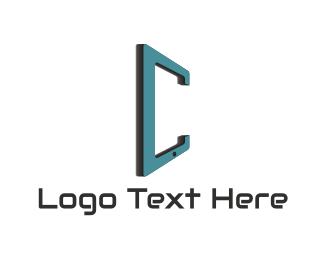Gadget - Gadget Letter C logo design