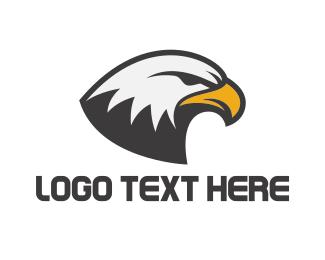 Powerful - Eagle Head logo design