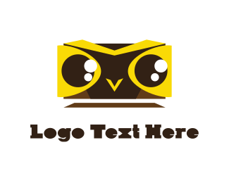 Owl - Yellow Owl logo design