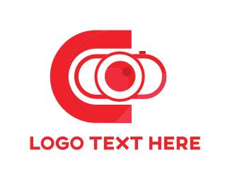 Photograph - Red Camera logo design