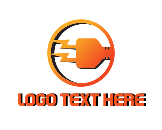 Electricity - Electric Plug logo design