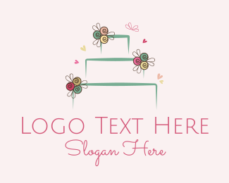 Bride - Wedding Cake logo design