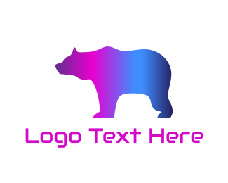 Gay - Disco Bear logo design
