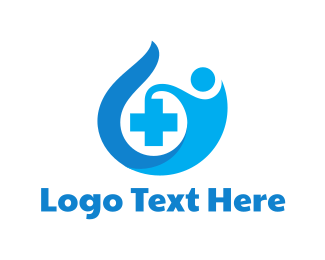 Rescue - Medical Blue Cross logo design