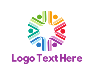 People - Colorful Group logo design