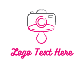 Newborn - Baby Photography logo design