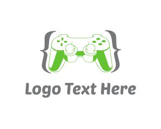 Joystick - Game Controller logo design