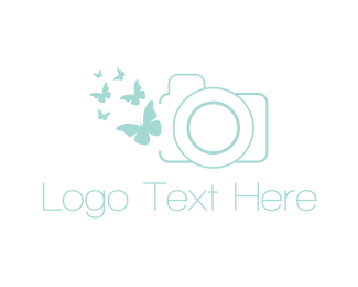 Butterfly - Butterfly Photography logo design